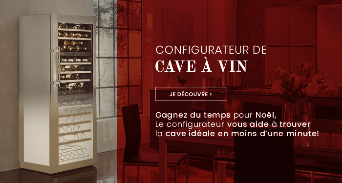 Configuration de caves à vin