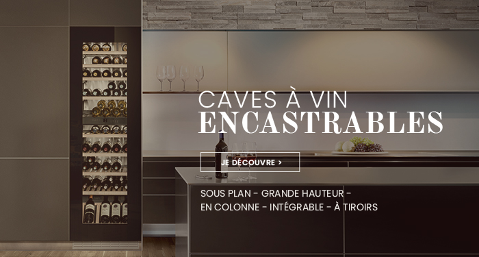 Caves à vin encastrables
