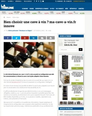 comment bien choisir sa cave vin ma cave vin. Black Bedroom Furniture Sets. Home Design Ideas