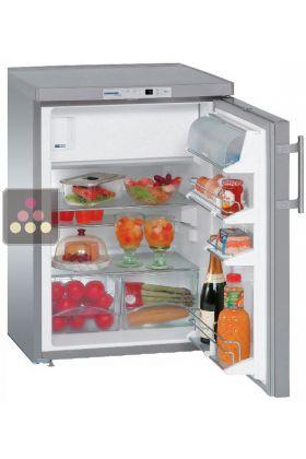 Ancien Modele Mini Refrigerateur Congelateur En Inox Porte