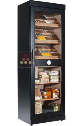 Ancien mod le cave cigares professionnelle en bois de c dre grande capaci - Cave a fromage electrique ...