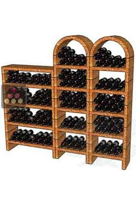 ancien mod le casiers en pierre massive pour 250 bouteilles cavo ma cave vin. Black Bedroom Furniture Sets. Home Design Ideas