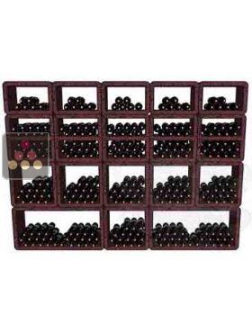 ancien mod le casiers bouteilles en pierre de lave multi 500 bouteilles m. Black Bedroom Furniture Sets. Home Design Ideas