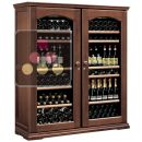 Combined 2 Single temperature wine service & storage cabinets ACI-CAL421