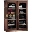 Combined 2 Single temperature wine service & storage cabinets ACI-CAL423