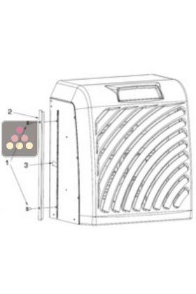 filtre poussi re pour climatiseurs fondis gamme sp100 fondis aci fon254 ma cave vin. Black Bedroom Furniture Sets. Home Design Ideas
