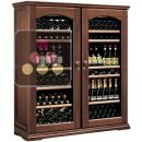 Combined 2 multi temperature wine service and storage cabinets ACI-CAL422
