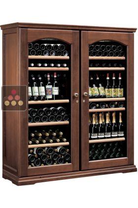 ancien mod le combin de 2 caves vin multi temp ratures de service et de conservation calice. Black Bedroom Furniture Sets. Home Design Ideas