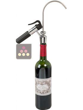 distributeur de vin au verre avec syst me de pr servation du vin la sommeliere aci som630 ma. Black Bedroom Furniture Sets. Home Design Ideas