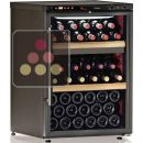 Dual temperature wine cabinet for service and storage ACI-CAL201