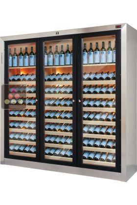 caves vin design de conservation ou de service ellemme aci elm119 ma cave vin. Black Bedroom Furniture Sets. Home Design Ideas