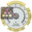 Hygromètre autocollant à aiguille pour gamme Elegance, Prestige, Alliance, Envergure et Palace.  ACI-TRT401