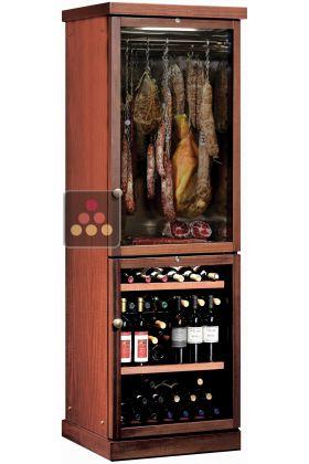 combin d 39 une cave vin de service et d 39 une cave charcuterie calice aci cal719 ma cave vin. Black Bedroom Furniture Sets. Home Design Ideas