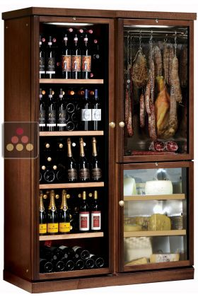 combin gourmand cave vin cave fromages et cave. Black Bedroom Furniture Sets. Home Design Ideas