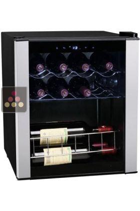 Ancien mod le cave vin mono temp rature de service climadiff ma cave vin - Cave a vin double temperature ...