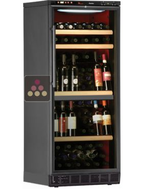 Cave vin 2 temp ratures de conservation et de service encastrable calice a - Temperature cave a vin conservation ...