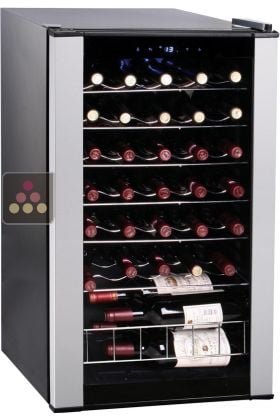 Cave vin mono temp rature de service climadiff aci cli803 ma cave vin - Reglage temperature cave a vin ...