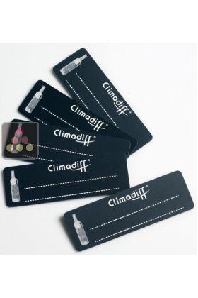 lot de 5 tiquettes pour clayette climadiff aci cli487 ma cave vin. Black Bedroom Furniture Sets. Home Design Ideas