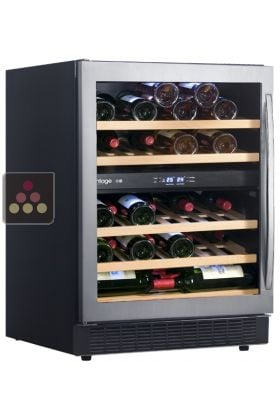 Ancien mod le cave vin multi usages 2 temp ratures de conservation et ou - Temperature cave a vin conservation ...
