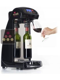 Distributeur de vin au verre + 4 têtes de distribution + 2 cartouches d'argon WINEFIT