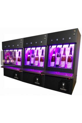 Ancien modèle : 3 Distributeurs de vin au verre pour 12