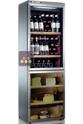 combin de cave vin et cave fromage jusqu 39 40kg et. Black Bedroom Furniture Sets. Home Design Ideas