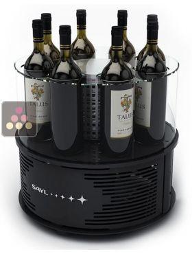 Rafraichisseur 1 temp rature pour 8 bouteilles de vin - Temperature cave a vin electrique ...