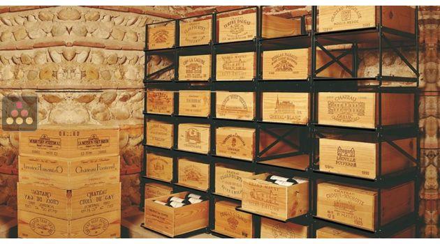 La Seule Solution Pour Stocker  Caisses De Vins Et  Bouteilles