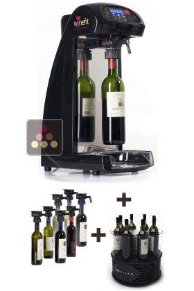 distributeur de vin au verre rafra chisseur mono temp rature pour 8 bouteilles winefit aci. Black Bedroom Furniture Sets. Home Design Ideas