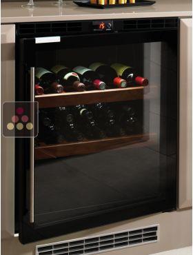 Cave vin de service 1 temp rature encastrable charni res droite norcool - Reglage temperature cave a vin ...