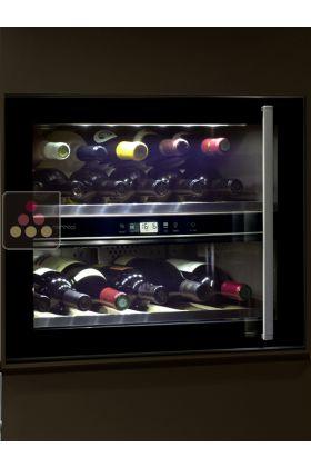 cave vin de service 2 temp ratures encastrable charni res gauche norcool aci nor106 ma. Black Bedroom Furniture Sets. Home Design Ideas