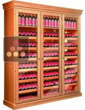 une cave vin de vieillissement ellemme de 200 250 bouteilles ma cave vin. Black Bedroom Furniture Sets. Home Design Ideas