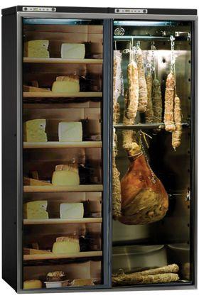 Combin d 39 une cave charcuterie et d 39 une cave fromage jusqu 39 180 kg calice aci cal741 ma - Armoire a cigare occasion ...