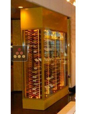 vitrine sur mesure de conservation ou de service du vin ma. Black Bedroom Furniture Sets. Home Design Ideas