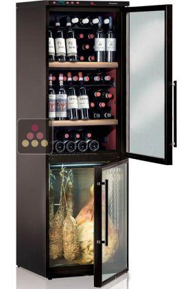 combin de cave vin et cave charcuterie jusqu 39 40kg. Black Bedroom Furniture Sets. Home Design Ideas