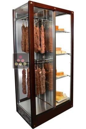 Vitrine 3 faces r frig r e de conservation ou de service des fromages et des charcuteries calice - Armoire d affinage fromage ...