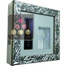 Single temperature silent refrigerated Champagne stand  for 1 bottle and 2 glasses ACI-QVC109