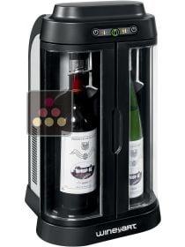 Rafra chisseur de bouteille ma cave vin - Mini cave a vin 2 bouteilles ...