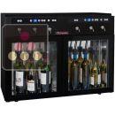 Distributeur de vin au verre 2 Températures 6 bouteilles avec système de conservation ACI-SOM100