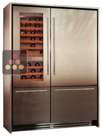 frigo cave vin integre. Black Bedroom Furniture Sets. Home Design Ideas