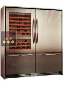 r frig rateur am ricain combin cave vin et r frig rateur ma cave vin ma cave vin. Black Bedroom Furniture Sets. Home Design Ideas