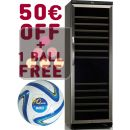 Dual temperature built in wine cabinet + 50 euros Gift Voucher + Waeco Ball for free ACI-DOM373E-SP1