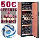 Cave à vin Mono-Température vieillissement ou service + Chèque Cadeau 50 euros + Ballon Waeco ACI-DOM602-SP