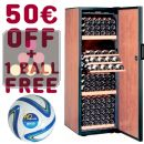 Single temperature wine cabinet ageing or service + 50 euros Gift Voucher + Waeco Ball ACI-DOM602-SP
