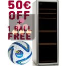 Single temperature wine cabinet ageing or service + 50 euros Gift Voucher + Waeco Ball ACI-DOM608-SP