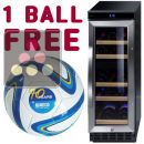 Dual temperature wine cabinet for storage and/or service + a Ball for free ACI-DOM362-SP