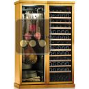 Combination of a Multi-temperature Wine Cabinet and a Single Temperature Delicatessen Cabinet ACI-CAL748TC