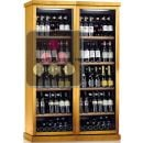 Combined 2 Single temperature wine service or storage cabinets ACI-CAL472