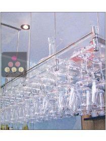 Porte verres suspendu ma cave vin - Porte verre suspendu bar ...