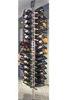 porte bouteille pose libre en plexiglas pour 136 bouteilles de champagne sobrio aci sbr221 ma. Black Bedroom Furniture Sets. Home Design Ideas